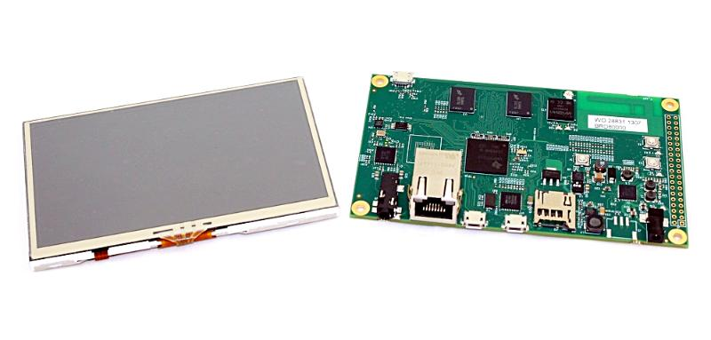 Gumstix carrier board and touchscreen