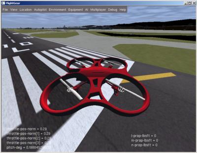 AR Drone 2 - PaparazziUAV