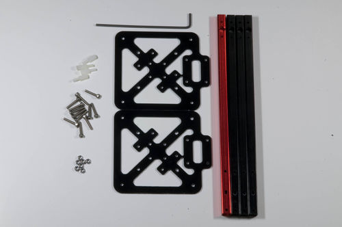 Lisa quad aluminium frame-disassembled.jpg