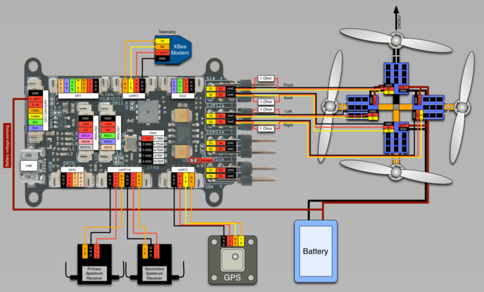Px Lisam V Wiring Quadrocopter Spektrum  mesc Shunts further In Pdbv moreover Old Car Fuse Box moreover Maxresdefault as well Collegamenti Del Quadro Ats. on voltage regulator wiring diagram