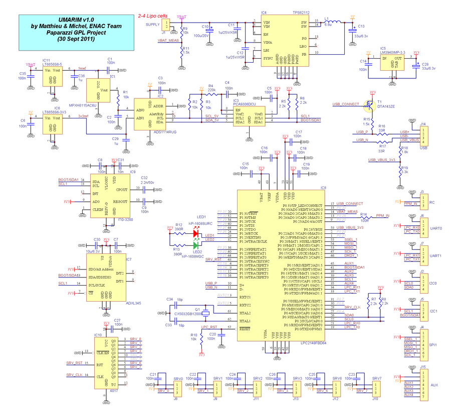 stm32f429 discovery schematic  | wiki.paparazziuav.org