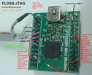 FT2232H Mini Modules as JTAG adapter