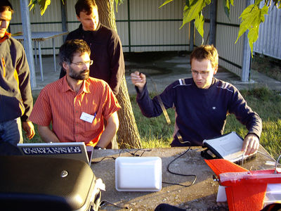 Pascal, Martin in Muret 2007