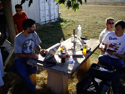 Pascal, Michel, J in Muret 2007